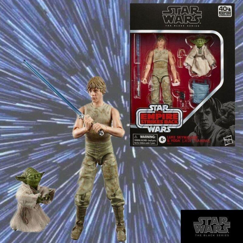 Star Wars Black Series Luke and Yoda (Jedi Training) 6-Inch Action Figure