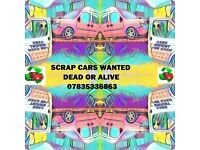 SCRAP CARS WANTED , BRADFORD & ALL SURROUNDINGS CASH PAID £30 TO £500 CALL j
