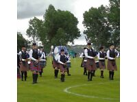 Pipers & Drummers wanted for novice Pipe Band