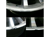 Alloy wheel powder coating refurbishment refurb rim repair