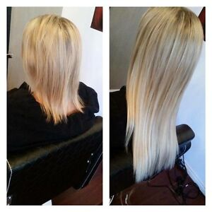 100% European REMY Human Hair Clip in Extensions Chadstone Monash Area Preview
