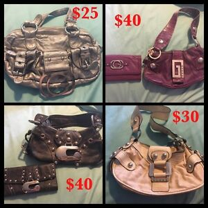 Authentic GUESS purses, clutches and wallets