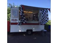 Burger Van with pitch and bookings