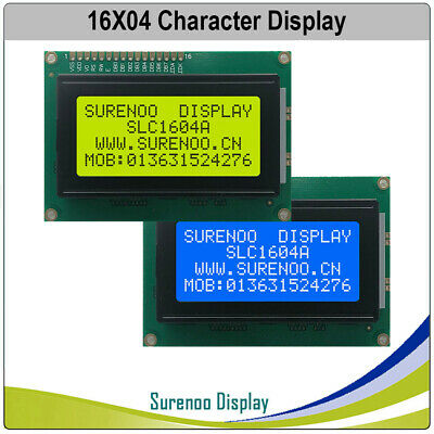 87.0x60.0mm 1604 164 Character Lcd Module Display Screen Panel Lcm Stn Splc780d