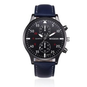 Brand New Leather Band Watch-3 Colours available