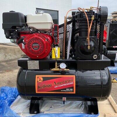 Kellogg American - 12 Hp Honda Gx390 Truck Mount Air Compressor