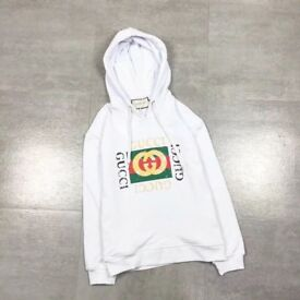 Cotton Gucci Sweatshirt White