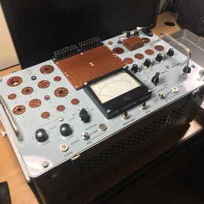 VACUUM TUBE TESTER WITH LCD DISPLAY LAMPEMETRE DIGITAL