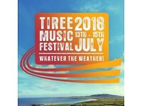 Tiree Music Festival - ticket for Campervan with electric hook-up. Also ferry slots available.