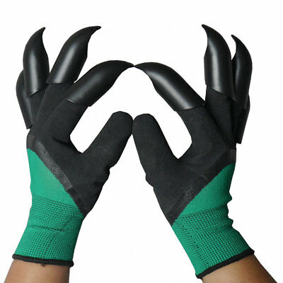 8 Paws Digging Gloves Garden Planting Claws Gardening Tool 1...