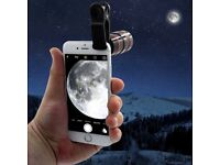 Mobile phone telescope -Long Focal Lens: Zoom: 8X