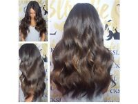 "CHRISTMAS HAIR EXTENSION OFFERS (All Methods) 20"" 200g Luxury Superweft just £189!!"