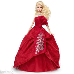 NEW-IN-BOX-2012-HAPPY-HOLIDAY-Barbie-Doll-COLLECTOR-039-s-Edition-FREE-SHIPPING-XMAS