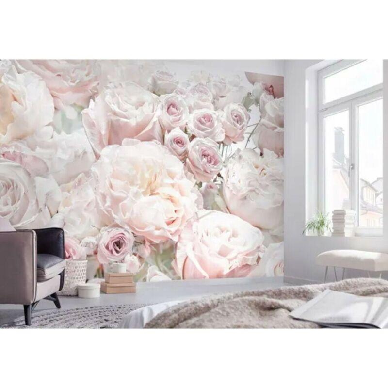 Komar Pink Spring Roses Wall Mural Wall Paper $170
