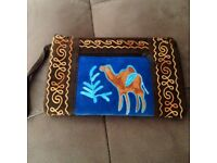 Suede purses from Goa India