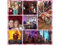 Children's disco's, hall party's, Mascots, home party & pamper party's from £99