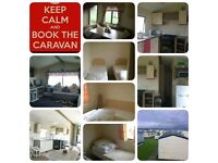 Special offer caravan hire 2nd sept fri-mon £125