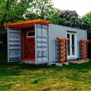 Shipping container bunkie