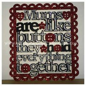 Mums are like plaque