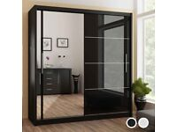 ✨MAGNIFICENT SALE✨ON BRAND NEW MDF QUALITY🌈2/3 DOOR 💥CHICAGO WARDROBES⚜️⚜️