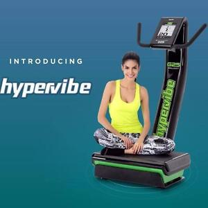 "HyperVibe ""Real"" whole body vibration training machines"