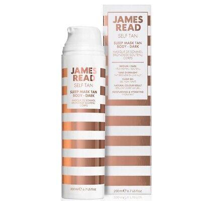 James Read Self Tan Sleep Mask Go Darker Body 200ml