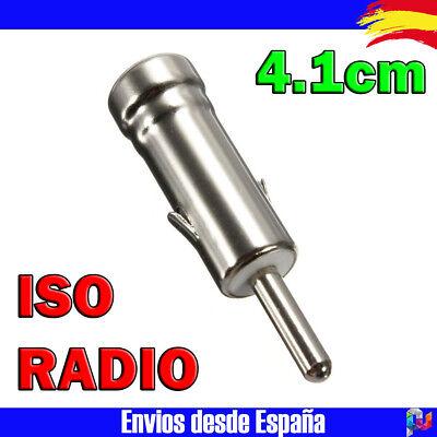 Conector de antena adaptador radio coche ISO alpine sony kenwood jvc pioneer...