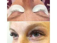 Russian 3D and Semi Permanent Eyelash extensions