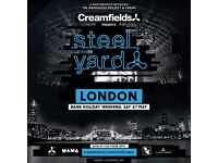 ERIC PRYDZ STEEL YARD SATURDAY TICKET