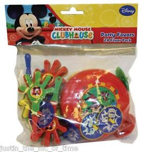 Disney Playful Mickey Clubhouse Birthday Party Supplies Tableware Decorations