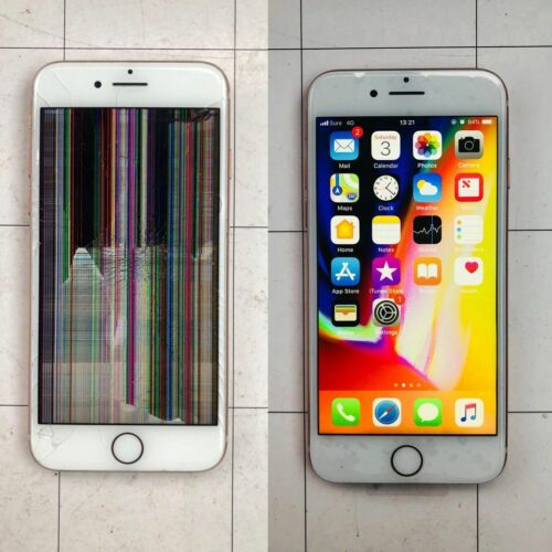 Iphone 7/8 Cracked Screen Glass Digitizer And Lcd Replacement Service