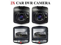 2 x Car DVR Camera Full HD Dash Cam 720P Video Registrator Vehicle Recorder Night