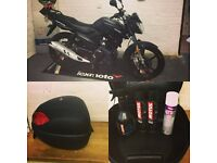 BikeNut - Free top box and cleaning kit with Lexmoto Aspire! From £62 per month
