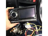 Alpine double din stereo