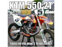 I can rebuild 2 stroke top end engines txt for info