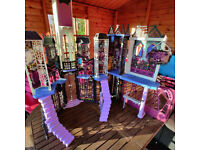 Monster High Doll School Playhouse & Accessories