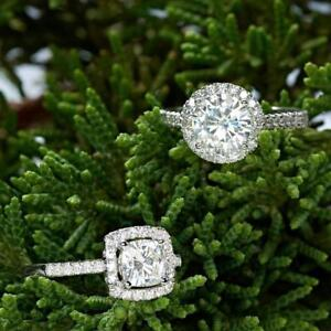 Moissanite - More Brilliance & Fire than Diamonds! Exceptional beauty, excellent value!