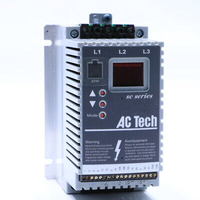 Lenze Ac Tech Sf210 1hp Inverter Drive Excellent