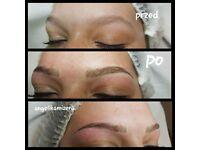 Makijaż permanentny brwi microblading