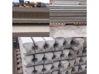 6ft concrete fence post / Reinforced Concrete Fence Posts