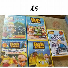 Bob the Builder selection
