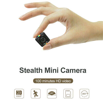 Wireless Hidden Mini Spy Camera, Full HD 1080P Portable Sports Action, Nanny Cam