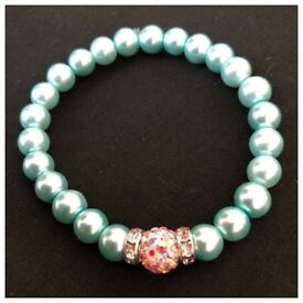 💕Turquoise Shamballa Ball Bracelet £2.50💕