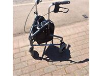 Wheeltech Tri Walker 3 wheel walking aid providing support & stability.