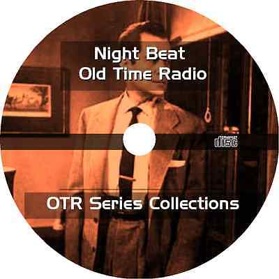 * NIGHT BEAT (OTR) OLD TIME RADIO SHOWS CRIME DRAMA * 77 EPISODES on MP3 CD *