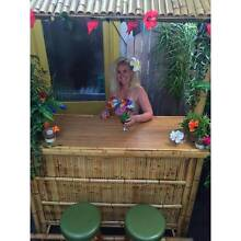 Rent Bamboo Tiki Bar Rental Hire Luau Hawaiian Party Rosebud Mornington Peninsula Preview