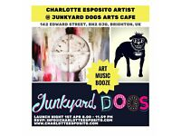 DJ's Required for exciting Arts Event!! Slots available at Junkyard Dogs Arts Cafe 1st April 2017