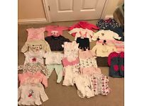 Newborn and 0-3 months girl clothes