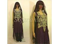 3Piece FULL STITCHED READY TO WEAR WEDDING PARTY EID DRESS AT DISCOUNT PRICE