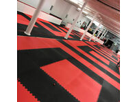 6 x 20mm EVA Jigsaw Mats 1m2 Best UK Prices, Can Deliver, For Taekwondo, Kickboxing, Karate, MMA